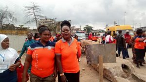 Charity walk during the Nigerian Deaf Women AGM 2019 Edition held in Lagos